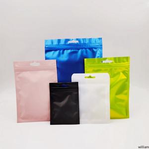 Bolsa de folha de alumínio embalagem sacos cheiro plástico de mylar para vape de erva seca flores edibles comida de armazenamento com zíper dhl