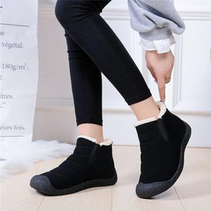 Snow Boots for Women Winter Warm Ankle Short Bootie Casual Waterproof Shoes Warm Shoes Woman Comfort Boots Comfortable