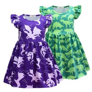{Sweet Baby} 3-3 Years Kids Girl Dress Toddler Baby Short Sleeve Dresses Summer Children Clothing Girls Princess Dress Kid Tops Outfit