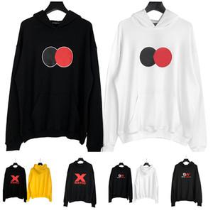 2020 New Designers Mens Hoodie encostar manga comprida Hoodies Hip Hop Streetwear Mens Moletons Vestuário