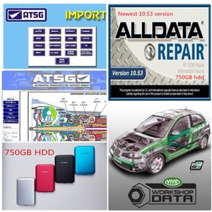 2020 лучшая цена Alldata 10.53 Auto Repair Soft-Ware Vivid Schardop ATSG в 750 ГБ HDD USB3.0