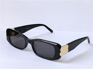 Yeni Moda Kadınlar Tasarım Güneş Gözlüğü 0096 Küçük Çerçeve Kare Gözlük Basit Popüler Trend Stil Dekoratif Gözlük En Kaliteli Kutusu Ile