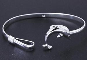 Bilezikler Bilezik Zarif Kadınlar Gümüş Bileklik Bileklik Kadınlar Doğum Hediye Yunus Bileklik Bileklik