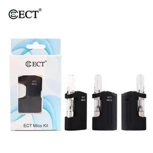 2020 popular selling vape kit ECT MICO preheating 500mah battery electronic cigarette box mod kit e-cig