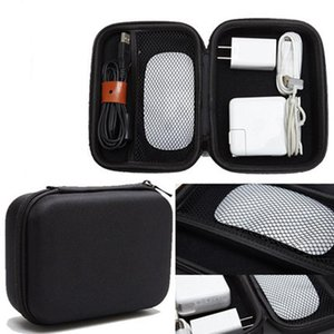 traveling storage bag Digital Calculator Storage Bag Travel Organizer Case For USB Flash Drive Data Cable Gadget Bags