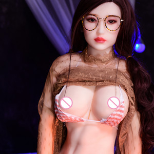 Large Breast Real Skin Sex Doll Hot Chinese Sexy Dolls Tpe With Metal Skeleton 3 Holes Sex