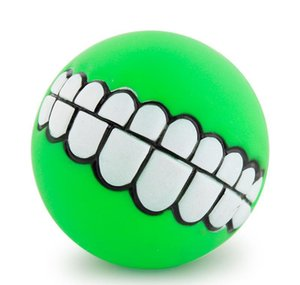 Funny Pet Dog Puppy Cat Ball Tooth Toy Chewing Sound Dog Play Take Out Bu sqcCNV sports2010