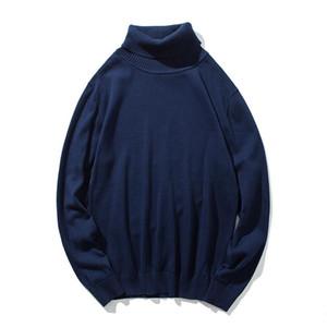 KKSKY Kış Kazak Süveter Man Pamuk Turtleneck Erkek Triko Giyim Siyah Triko Kazaklar İçin Erkekler Oversize Tops