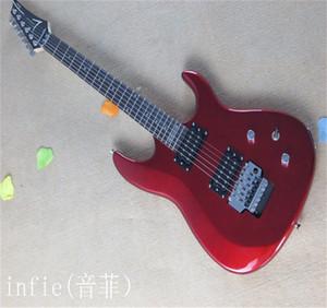 Ücretsiz kargo !! 2021 Yeni Geliş + Yüksek Kalite + Joe Satriani KIRMIZI JS Serisi JS20S Floyd Rose Elektro Gitar In Stock