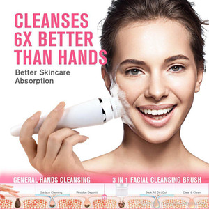 Best Selling Products Electric Face Cleansing Instrument Silicon Facial Clean brush,USB Rechargeable facial Cleansing Brush