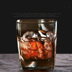 Glass Whiskey White Wine Glasses 170ML Beer Glass Bar Club Spirits Glass Wine Cup Transparent Milk Coffee Mugs Mug VTKY2341