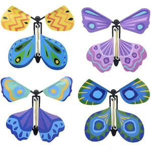 New Flying Change With Empty Hands Freedom Butterfly Props Magic Tricks CCA6799 1000pcs