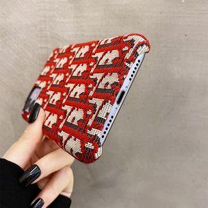 Роскошный дизайнер вышивки полосатость телефона Чехол для Iphone 12 Pro 11 Pro максимума для Айфона х XR хз не более 7 8plus Модели телефона Назад