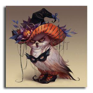"Diamond Painting Animal ""Bird"" Full Square Rhinestone Mosaic ""Halloween Owl""Diamond Embroidery Home Hecoration YSD"