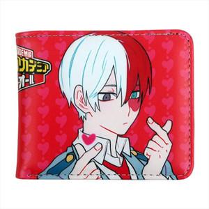 Cartera Hombres Anime My Hero Academia Cosplay Cartera Titular de la Tarjeta Zipper Moneda de bolsillo Nuevo