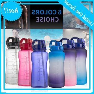 Hot selling gradient pop top large capacity outdoor sports kettle 3.8l3l2l