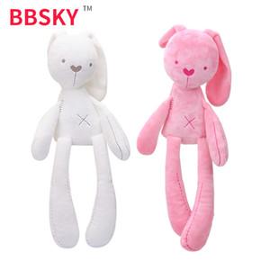 Cute plush long legged rabbit doll baby toy Suri the same baby comfort sleeping doll