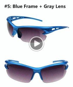 Eyewear Moda Occhiali da sole a cavallo in esecuzione Bicicletta Bicicletta Sport Sport Sport Hot Motocycle UV protettivo Goggles ciclismo LNMDI