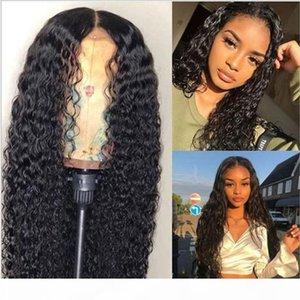 Zhao Haigang 28 Europea y dividir la peluca de las mujeres peluca de pelo largo y rizado pequeña onda de la fibra química del frente del cordón del pelo peluca americana Cimera
