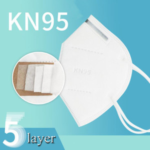 KN95 Mask PM2.5 Dustproof Anti-Dust 95% Filter face Mask Breathable Comfortable Metal Nose Mask Outdoor FFP2 Protective Features 2021 New