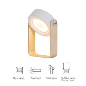 Modern Lantern Night Light Table USB Charging Lamp Led Light Small Portable Lantern For Bedroom Reading Light Multifunction