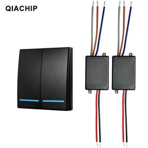 QIACHIP 433MHz 무선 원격 제어 DC 12V 24V 1ch 유니버셜 릴레이 수신기 모듈 도어 LED 릴레이 수신기 스위치 Light1