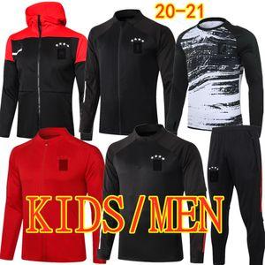 Kids Adult LEWANDOWSKI SANE Soccer Tracksuit MULLER KIMMICH Training Suit 20 21 GNABRY DAVIES GORETZKA ALABA Football Jacket Pants Child Men