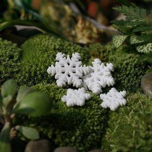 10Pcs Classic White Snowflake Ornaments Christmas Holiday Party Home Decor christmas tree decorations navidad 2019 Xmas @P lmEJ#