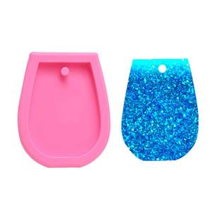 DIY multi uso Mold epóxi resina de silicone Moldes Açúcar Bolo de Creme Key Buckle Cup Gesso Aromaterapia Soap Mold 1 6hw L2
