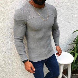 Casual manga completa Jerseys Jerseys para hombres ropa de invierno otoño Tire Homme Tricot O Cuello de lana suéteres de punto de calidad Tops