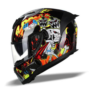 Neue Hot-Selling Jiekai Off-Road Motorrad Motorrad Reithelm Outdoor Racing Full Face Helm