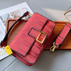 캔버스 가방 메신저 가방 지갑 패션 고품질 골드 금속 자기 버클 숄더 스트랩 제거 패턴 편지 HASP