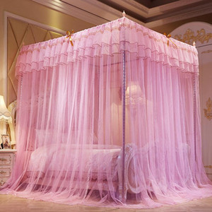 Home Textile Palace Mosquito Net Princess Bed Butterfly BUG Prevention Mosquitoe Net Three Door Bug Mosquito Repeller Net VT0148