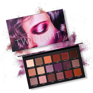 18-Color Long Lasting Cosmetic Makeup Eyeshadow Palette Shimmer Matte Pigmented Pressed Eyes Shadow-.w