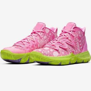 2020 Yeni Varış Erkek Kyrie Ayakkabı TV PE Basketbol Ayakkabıları 5 Ucuz 20. Yıldönümü Sünger X Irving 5s V Beş Ayakkabı Sneakers