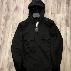 Giacca Streetwear Topstoney Jacket Cyberpunk Casual Mens Windbreaker Jogging Felpe con cappuccio Autunno girocollo con cappuccio cappotti Outdoor Mens