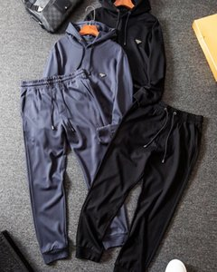 2020 erkek yeni lüks Retro elbise rahat seyahat Senfoni balistik esnek En Sınırlı serisi kümesi örgü nefes eşofman