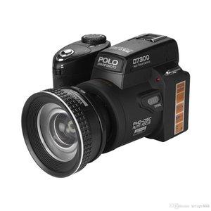 Polo D7300 Цифровая камера HD1080P 3.0LCD 24 раза Оптический зум 33 миллиона пикселей, 3 режима Дополнительный свет, трех ног