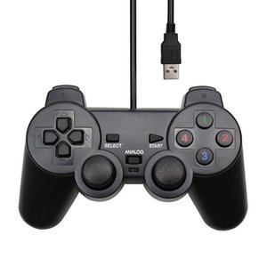 Wired USB Controller Gamepad For WinXP Win7 Win8 Win10 For PC Computer Laptop Black Game Joystick