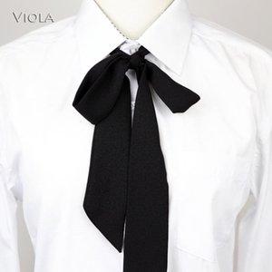 Cravates de coude 13 couleurs rubans de mousseline de mousseline de bricolage papillon pois rayé handicapé simple chemise accessoire sac ornements femmes nœud noeud papillon