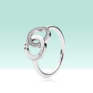 925 Cercle en argent sterling anneaux avec ajustement idéal femmes de fiançailles de mariage bijoux bague sertie