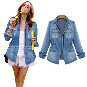 2021 New Fashion Jean Jackets For Women Coat Female Bomber Jacket Denim