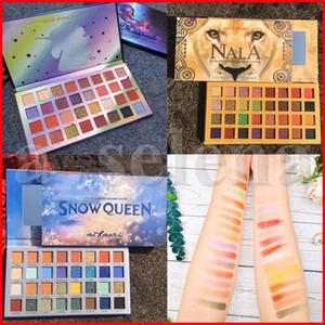Макияж глаз COCOURBAN Stay Magical 32 Colors Eyeshadow Макияж Пигменты Матовый Shimmer Unicorn Снежная королева тени для век Палитры 3 Стили