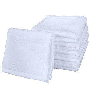 30*30CM Sublimation Kerchief Thermal Transfer Plain White Printing Kerchief Towel Unisex Travel Portable Washable Washrag Hand Towel F102303
