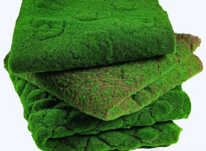 Green Plant Simulation Home Grass Decoration Foliage For Artificial Fake Artificial Moss Wall Wedding Lawn Moss jllbs yummy_shop