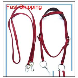 fullset horse halter bridle pony fixed rein belt durable horse riding accessories harness CjL2V