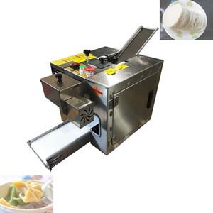 wonton automatique 2020 en acier inoxydable / boulette machine peau / roti wrapper chapati machine de fabrication de la machine Dumpling emballage