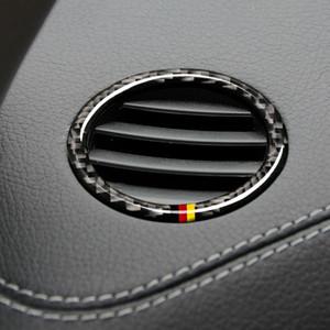 Marco instrumento salida de ventilación del coche pegatinas de círculo Cubiertas para Mercedes ML GLS 2016-2018 2012-2015 2015-2018 GLE GL 2013-2015