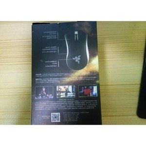 Черный белый бритва Deathodder Chroma USB Wired Optical Компьютерная игровая мышь 10000DPI Оптический датчик мыши Razer Mous Bbyjku Yhshop2010