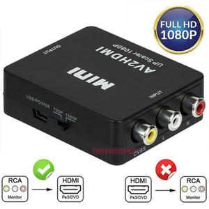 RCA to HDMI Converter Composite AV CVBS Video Adapter 720p 1080p Wii NES SNES AV Adapter